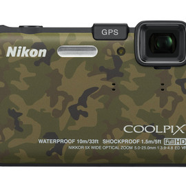 Nikon - COOLPIX AW100 (Forest Camouflage)