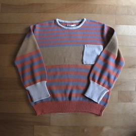 "DISCOVERED - Change Border Knit ""Beige"""