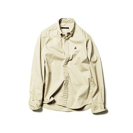 SOPHNET. - STANDARD COTTON TWILL B.D SHIRT