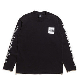 THE NORTH FACE - L/S Sleeve Graphic Tee-K