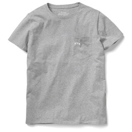 A.P.C., Carhartt - Pocket Tee - Heather Grey
