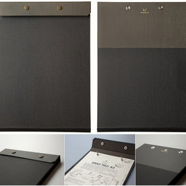 POSTALCO - SNAP PAD A4 FADED BLACK