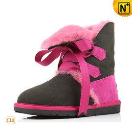 CWMALLS - Shearling Lined Leather Boots for Women CW314419