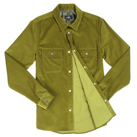 A.P.C. - overshirt olive A.P.C. OVER SHIRT OLIVE | CONTEXT 20% FLASH SALE