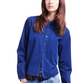 HOPE - COPPOLA BLOUSE / BLUE