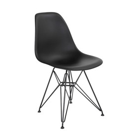 Vitra × CONRAN SHOP - EAMES SHELL CHAIR EIFFEL BLACK/BLK LEG