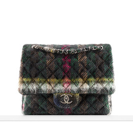CHANEL - FLAP BAG IN MOHAIR