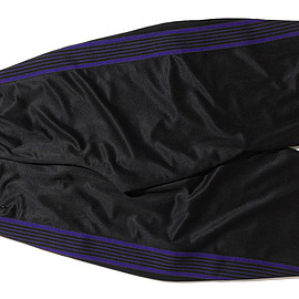 NEEDLES - H.D. Track Pant-Poly Smooth-Black