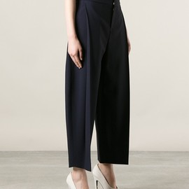 Chloe - tapered cropped trouser