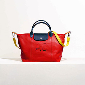 LONGCHAMP - le pliage cuir custom