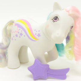 My little pony - Raincurl   /Rainbow curl pony(G1)