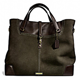 Coach - Billy Reid Suede saddle Tote
