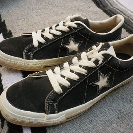 converse one star canvas made in usa - CONVERSEコンバースワンスターキャンバス&オールスターアメリカ製MADE IN USA
