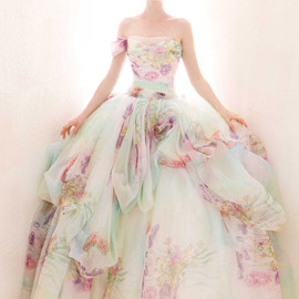 atelier aimee - multi color wedding dress