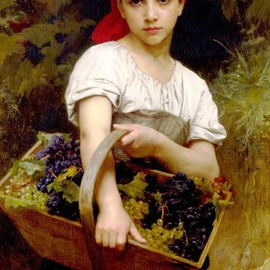 William-Adolphe Bouguereau - The Grape Picker, 1875, oil