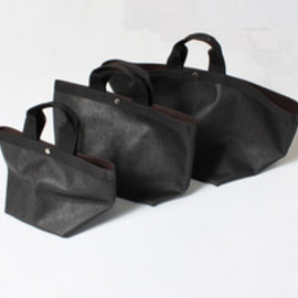 Herve' Chapelier - Biotop Collaboration Bag Coated canvas