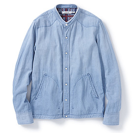 nonnative - coach shirt cotton 7.5oz DENIM VW