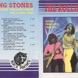 The Rolling Stones - SUPER PRECIOUS TRACKS VOL.4 (1966-1968)
