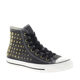 CONVERSE - All Star Collar Studs High Top Trainers