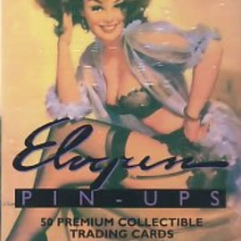 Gil Elvgren - Elvgren Pin-Ups (50 Premium Collectible Trading Cards from 21st Century Archives)