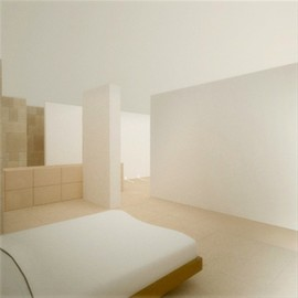 Claudio Silvestrin Architect - Kanye West's Bedroom, Loft in New York, USA