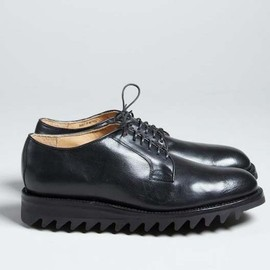 Yuketen - Plain Toe Oxford with Vibram Ripple Sole
