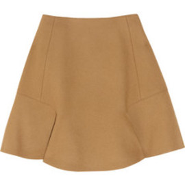 CARVEN - Flared wool-blend skirt