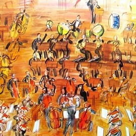 Raoul Dufy - Orchestra