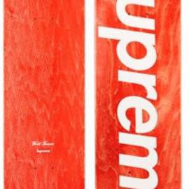 SUPREME - Supreme Stained Logo Decks