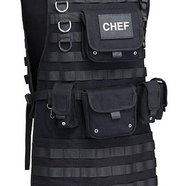ThinkGeek - Tactical BBQ Apron