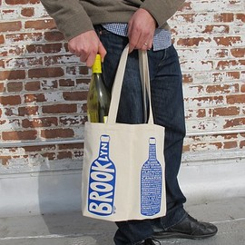 MAPTOTE - Brooklyn Double Wine Tote