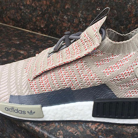 adidas - NMD TS1 - Light Bone/Red/Grey?