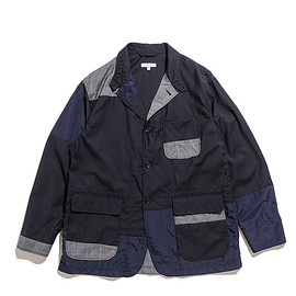 ENGINEERED GARMENTS - Loiter Jacket-Tropical Wool-Dk.Navy