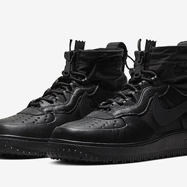 NIKE - Air Force 1 Hi WTR GTX - Black/Black/Black