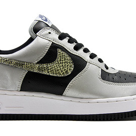 NIKE - '01 AIR FORCE 1 B BLACK SNAKE