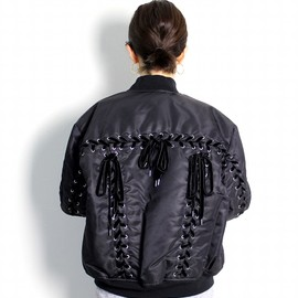 G.V.G.V. - OVERSIZED LASE UP MA-1 BLOUSON