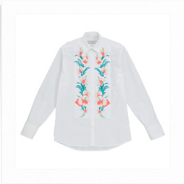 PAUL & JOE - HIBISCUS EMBROIDERY BLOUSE