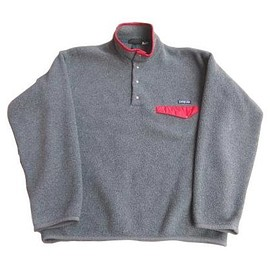 Patagonia - Synchilla® Snap-T 1993 Charcoal Heather×Burnt Chili