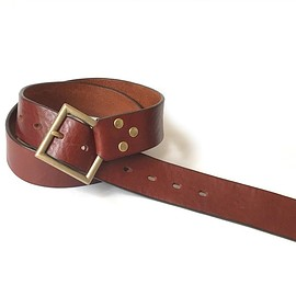 PEEL&LIFT - slant belt/BROWN
