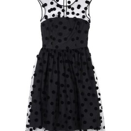 BLUGIRL BLUMARINE - 3/4 Length Black Dress