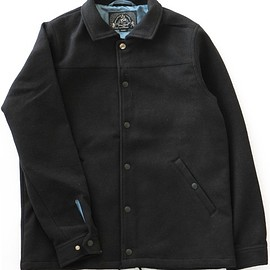 bal - Wide Color Coaches Jacket (black)