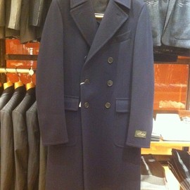 Belvest - Double Breasted Chesterfield Coat