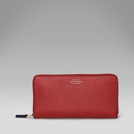 Smythson - large slim purse