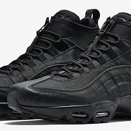 NIKE - Air Max 95 Sneakerboot - Black/Black