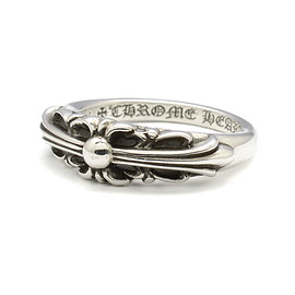 Chrome Hearts - Baby Classic Floral Cross Ring