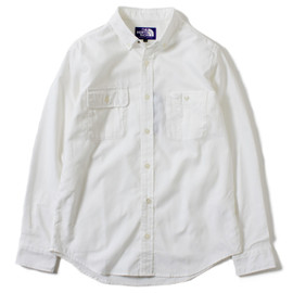 THE NORTH FACE PURPLE LABEL - COOLMAX® Pin OX B.D Shirt