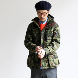nanamica - GORE-TEX Camouflage Cruiser Jacket