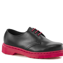 Dr.Martens - Dr.Martens 1461 3EYE SHOE 13147001 Black(Red sole)