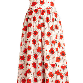 modcloth - Poppies and Thank You Skirt