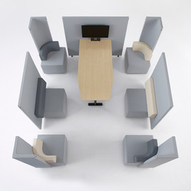 nendo, KOKUYO - brackets - office-use unit sofa